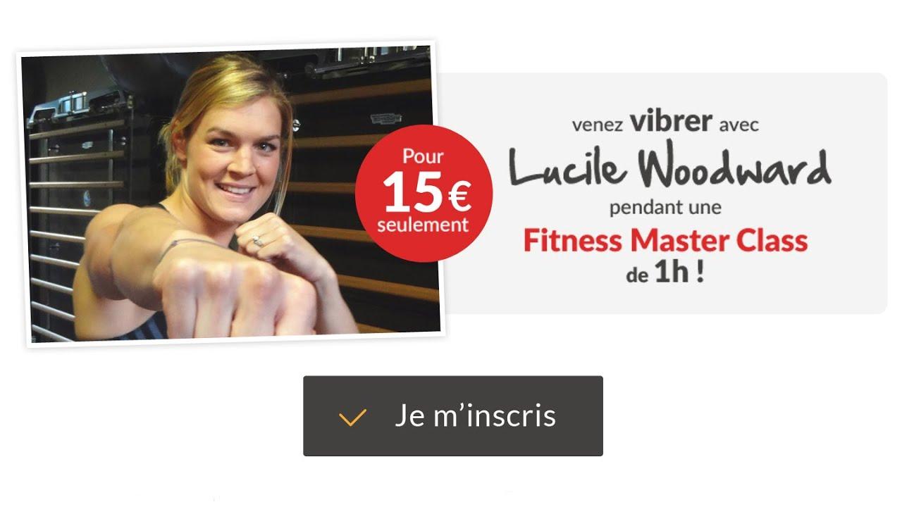 RDV le 19 mai pour une Fitness Master Class Live à Paris !