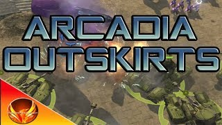 Halo Wars: Definitive Edition-Legendary Walkthrough-Mission #5: Arcadia Outskirts (Tank Strategy)