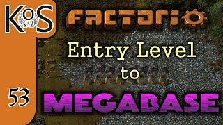 Factorio: Entry Level to Megabase Ep 53: MEGA IRON SMELTING - INPUT STATION - Tutorial Series