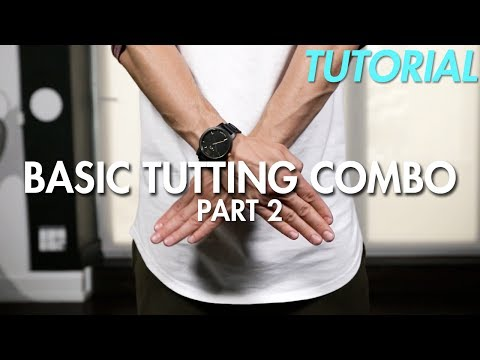 How to do a Basic Tutting Combo - Part 2 (Hip Hop Dance Moves Tutorial)   Mihran Kirakosian