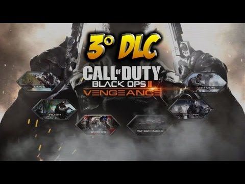 Black Ops 2: TERZO DLC - VENGEANCE (Cove, Detour, Rush, Uplink, Buried, RayGun Mark II) DLC #3