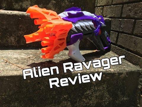 Honest Review: Nerf Ravager (Wacky Alien Menace Shotgun)