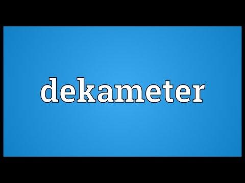 Header of dekameter
