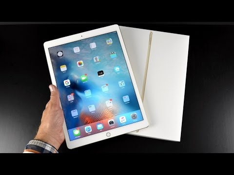 Apple iPad Pro: Unboxing & Review (All Colors)