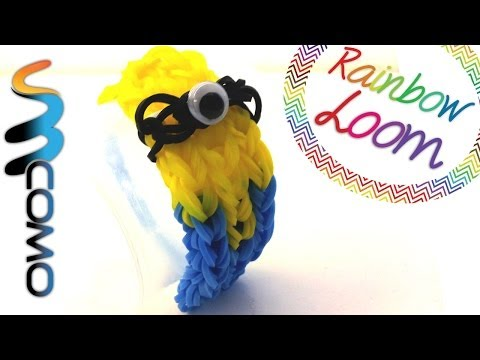 Rainbow Loom - Pulseira Minion video