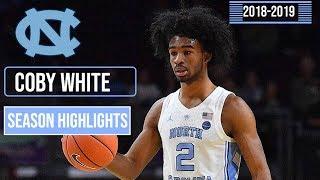 Coby White (North Carolina) Freshmen Season Highlights Part 1   2018-2019 Season