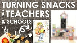 DESIGNING SNACKY TEACHERS - TokyoTreat Unboxing