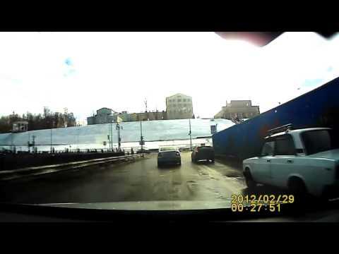 Авария в Ижевске 24 04 2014