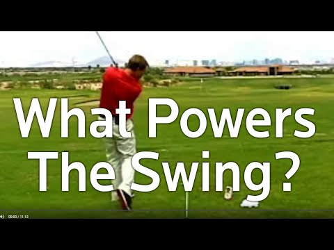 Golf Tips - What Powers the Golf Swing?