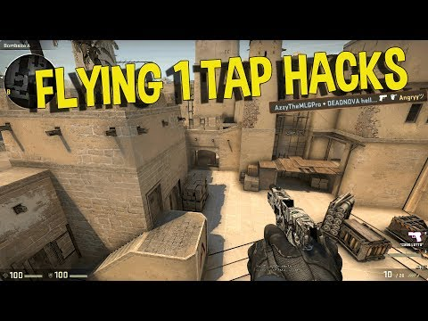CS:GO SILVER MOMENTS - FLYING ONE TAP HACKS, PLAYING CSGO WITH PEWDIEPIE (FUNNY MOMENTS)