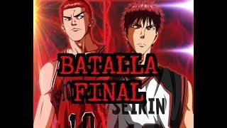 Kuroko No Basuke VS. Slam Dunk - LA BATALLA FINAL
