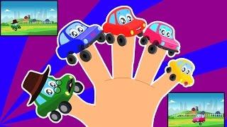 xe ngón tay gia đình   Phim hoạt hình cho trẻ em   biên soạn   ươm vần   Car Finger Family