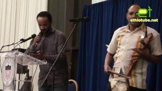 Ethiopia - Bewketu Seyoum Qene's sung by Azmari @ KeAmen Bashager Book Launch Event