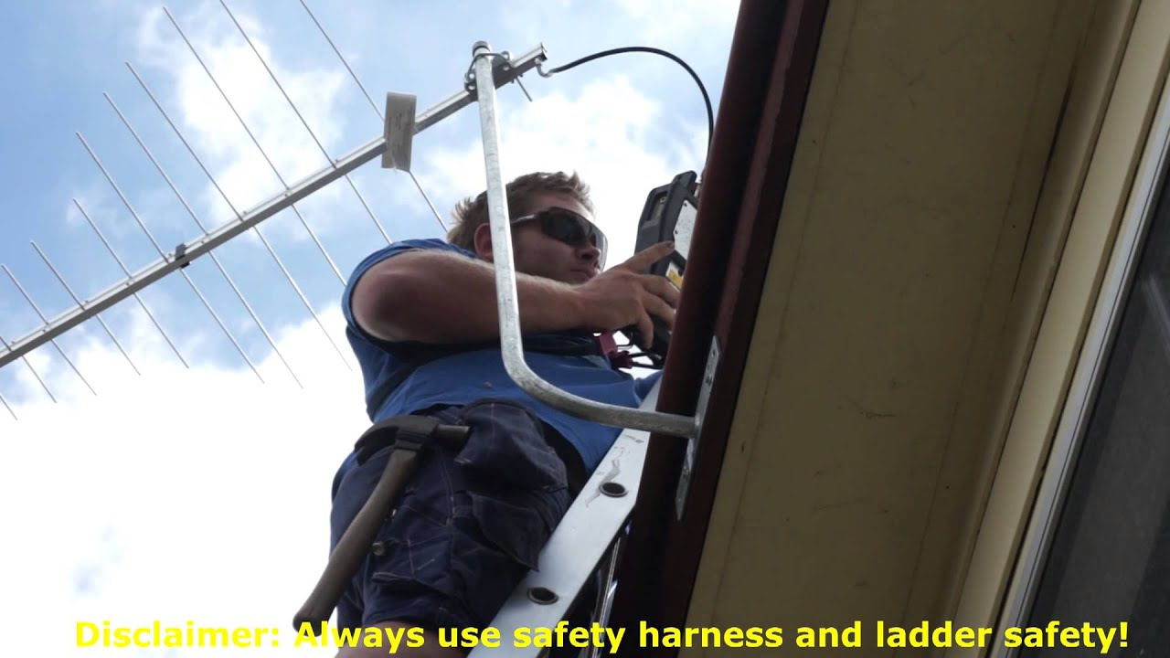 How To Install A Tv Antenna Using A Fascia Mount Or J Bar