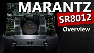 Marantz SR8012 11.2 Dolby Atmos 4K Receiver - Unboxing and Overview