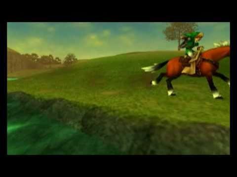 Intro de The Legend of Zelda: Ocarina of Time para el Nintendo 3DS