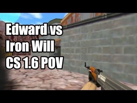 POV: Edward vs. Iron Will @IntelChallenge Na'Vi CS 1.6 Demo