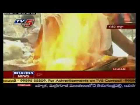 Sri Maha Ganapathi Homam In Kadapa- Tv5. video