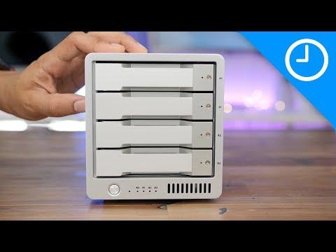 Hands-on: CalDigit T4 RAID Thunderbolt 3 storage enclosure [9to5Mac]