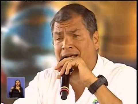 Presidente Rafael Correa, se refirió sobre publicación de un twitter