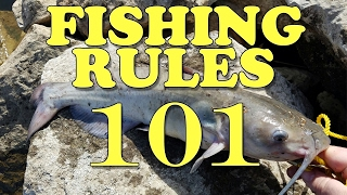 Fishing Rules 101 - Sometimes Things Just Don't Go Right!