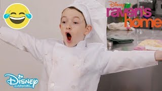 Raven's Home | The Kitchen Challenge ft. Booker and Levi 🍝 | Disney Channel UK