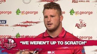 "Slipper : ""Reds weren't up to scratch"" | Super Rugby video highlights"
