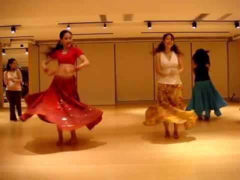 Bollywood Dance--Chamma Chamma Practice  CWB Myoga