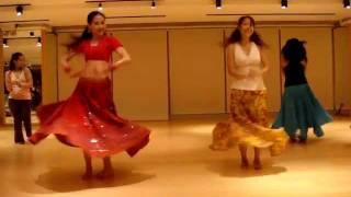 Bollywood Dance--Chamma Chamma Practice @ CWB Myoga