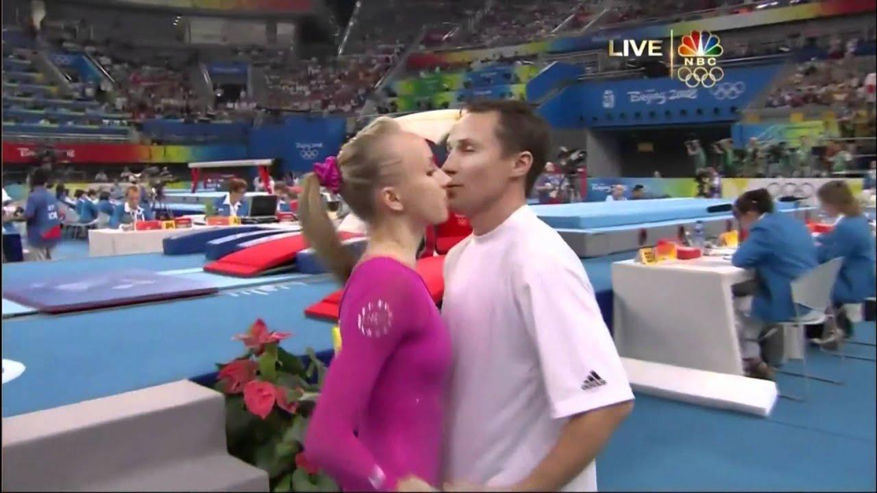 Nastia Liukin Vault 2008 Olympics All Around Youtube