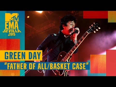 """Download Green Day - """"Father of All / Basket Case"""" LIVE   MTV EMA 2019 Mp4 baru"""