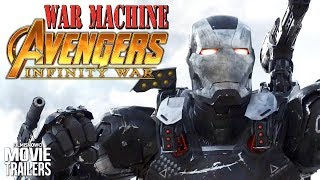 WAR MACHINE Best Action Moments   Waiting for Marvel's Avengers: Infinity War