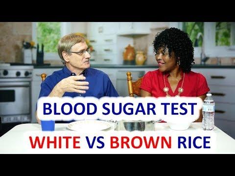 Blood Sugar Test: White Rice vs Brown Rice