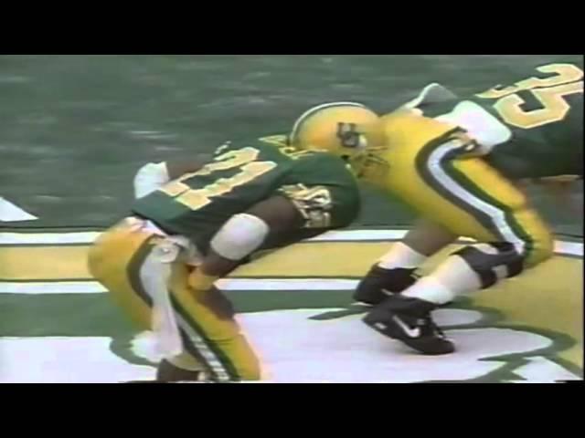 Oregon RB Sean Burwell 41 yard run vs. WSU 9-07-1991
