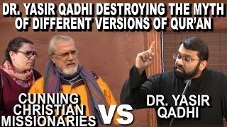 Video: Different Versions of the Quran Myth - Yasir Qadhi