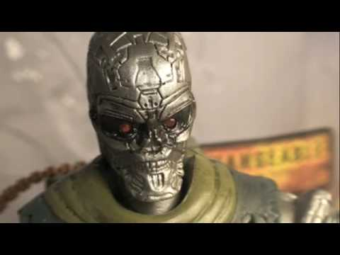 Terminator Salvation T-600 Six Inch Movie Action Figure Toy Review