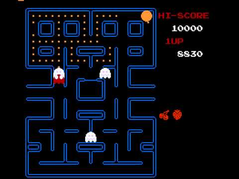 Pac-Man (Tengen) - How to Fail at Pac-Man - User video