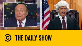 Trevor Noah Gives His Verdict On Rudy Giuliani | The Daily Show With Trevor Noah