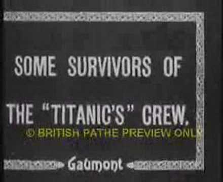 Titanic Disaster (Gaumont, 1912)