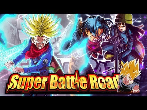 THE NEW FUTURE STAGE OF SUPER BATTLE ROAD BEATEN! (DBZ: Dokkan Battle)