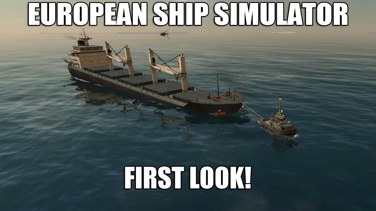 European Ship Simulator Early Access First Look Bulk