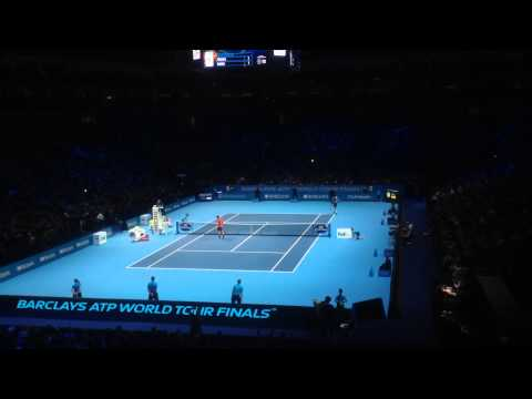 Roger Federer - Set Point vs Raonic - 2014 ATP World Tour Finals