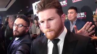 CANELO ALVAREZ: Golovkin trainer is STUPID! & I will KNOCKOUT GGG