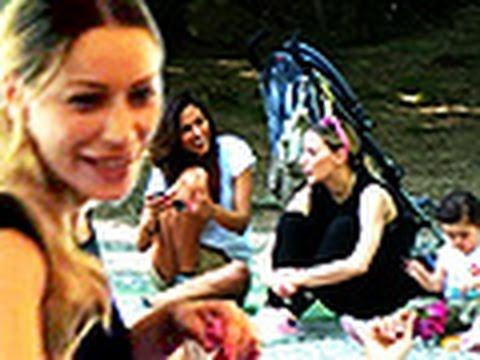 Camila Morais, prove da mamma con Karina Cascella e la figlia