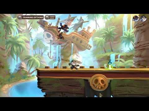 Brawlhalla Tutoriales Bonsai: Controles y GC