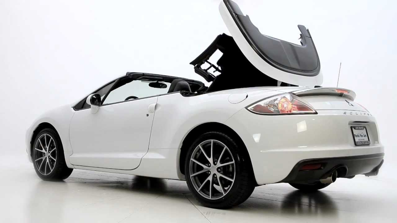 Florida Fine Cars Reviews 2012 Mitsubishi Eclipse Spyder Used Cars Miami Youtube