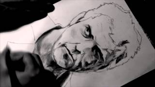 "SPEED DRAWING #2 - Mel Gibson : ""Mad Max"""