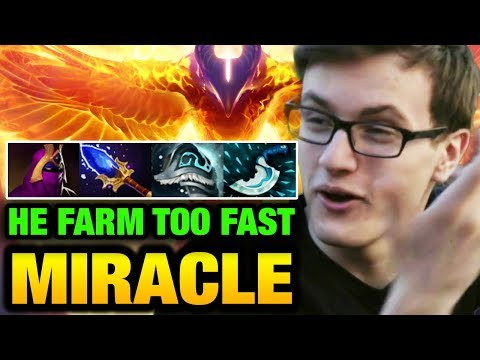 Miracle- Phoenix HOW TO PLAY OFFLANE like Him?? Dota 2