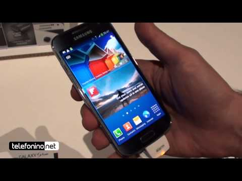 Samsung Galaxy S4 mini videopreview da Telefonino.net
