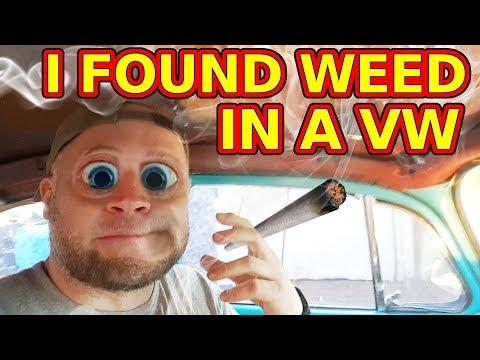 I Found Someone's Stash in a VW!